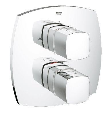 grohe grandera bateria wannowo prysznicowa podtynkowa termostatyczna chrom 19937000. Black Bedroom Furniture Sets. Home Design Ideas